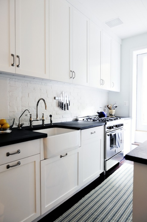 Kohler Galley Sink : Fireclay Apron Sink - Transitional - kitchen - DIY with ADD