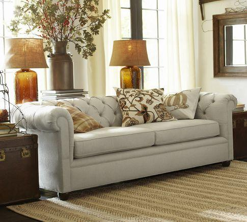 Chesterfield Grand Sofa Pottery Barn