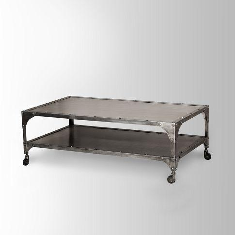 Antique Finish Element Coffee Table West Elm