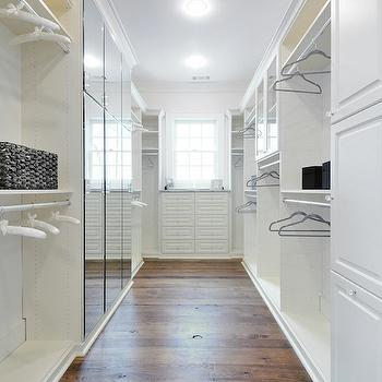 Mirrored Closet Doors, Contemporary, closet, Insidesign