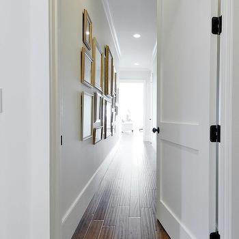 Hallway Photo Wall, Transitional, entrance/foyer, Insidesign