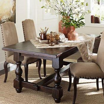 Dining Room Tables Pottery Barn turned legs table - products, bookmarks, design, inspiration and