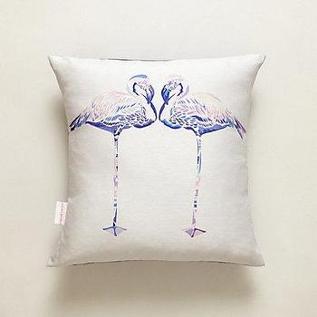 Flamingo Pillow I Anthropologie.com