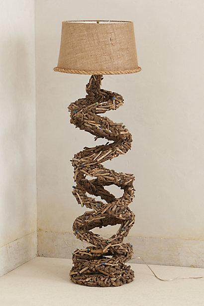 Twisted twigs floor lamp i anthropologie mozeypictures Images