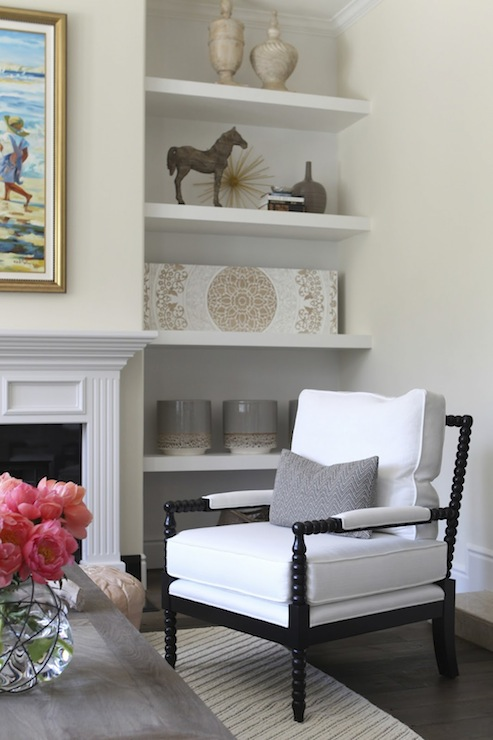 Alcoves On Either Side Of Fireplace Design Ideas