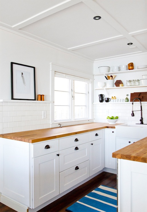 Ikea Numerar Countertop Cottage Kitchen Smitten Studio