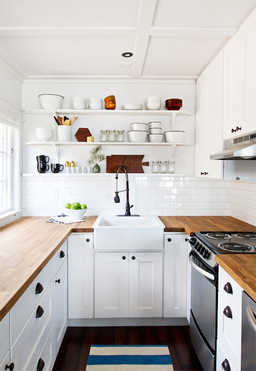Ikea Kitchen Cabinets Cottage kitchen Smitten Studio