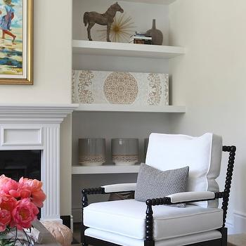 Black Spindle Living Room Chair Design Ideas