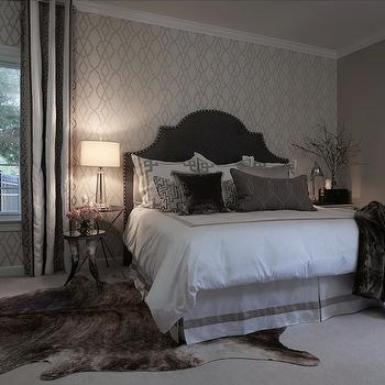 Gray Bedrooms, Contemporary, bedroom, Beckwith Interiors