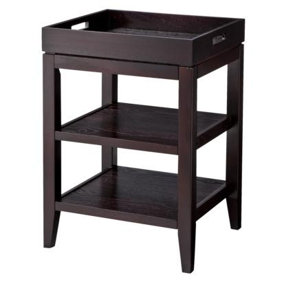 Accent Table With Removable Tray   Black I Target
