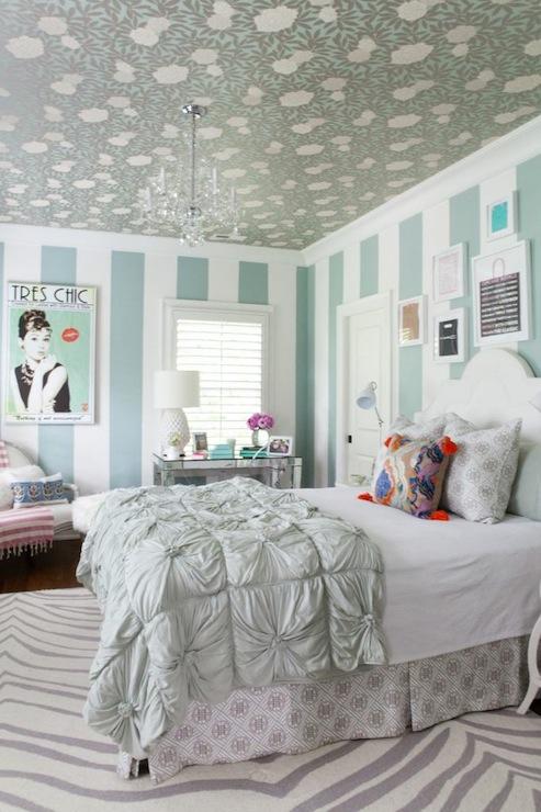 Turquoise Girl S Room Contemporary Girl S Room