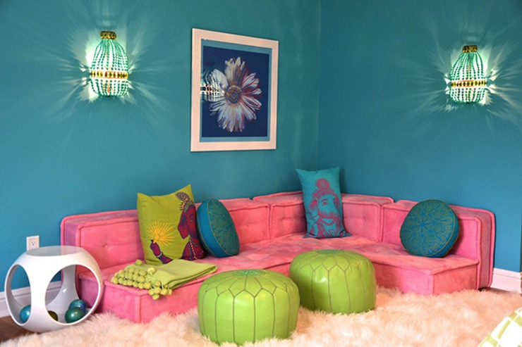 Pb2 Cushy Lounge Collection Contemporary Girl S Room