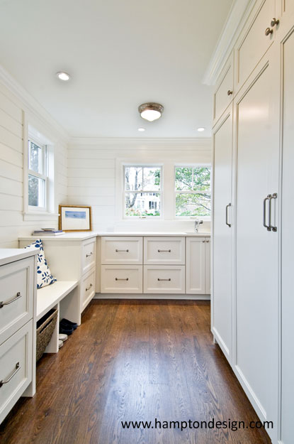 Mudroom Bench Cottage Laundry Room Hampton Design