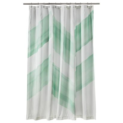 Nate Berkus Color Block Shower Curtain