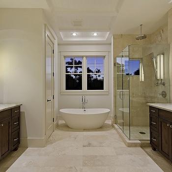 Vanities Facing Each Other, Traditional, bathroom, mhkap