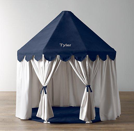 Pavilion Navy White Play Tent & Navy White Play Tent