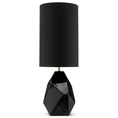 Modern Drama Faceted Table Lamp I Jcpenney