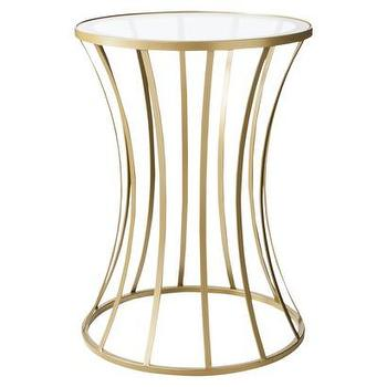 Vance Metal Accent Table Living Room Furniture