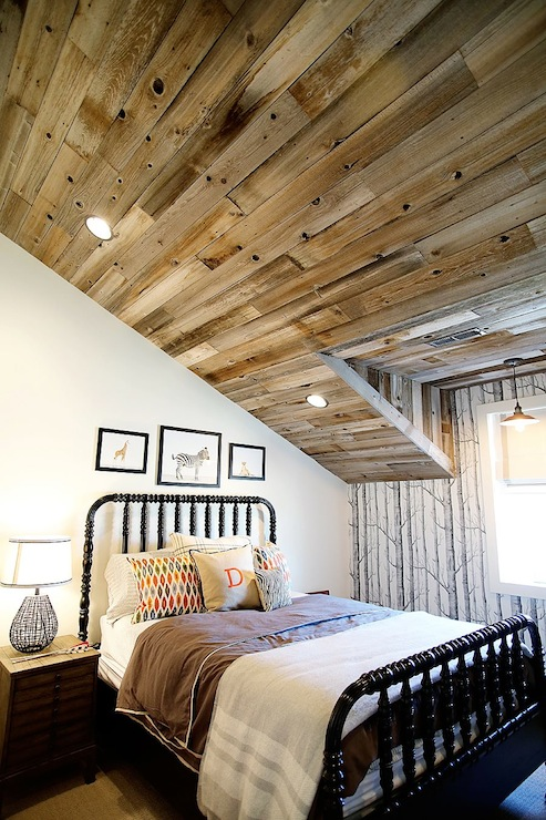 Wood Plank Ceiling Design Ideas
