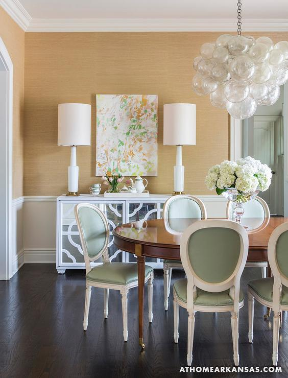 oly studio bubble chandelier transitional dining room at home in