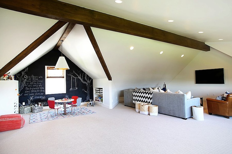 Attic Playroom Contemporary Boys Room Utah Valley