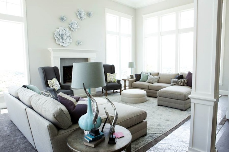Face to Face Sectionals - Contemporary - living room - Davies ...