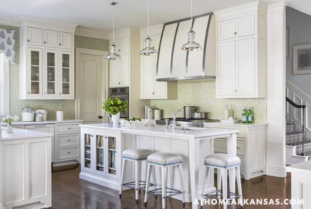 bookcase in kitchen island transitional kitchen. Black Bedroom Furniture Sets. Home Design Ideas
