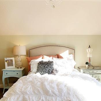 Ruffled Bedding, Transitional, girl's room, Utah Valley Parade of Homes