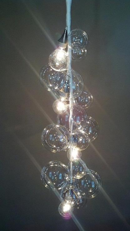 Floating glass bubble chandelier grand tier by designjet on etsy aloadofball Choice Image