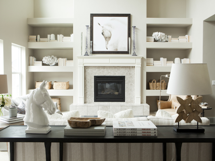 Well-known Fireplace Bookshelves Design Ideas JJ24