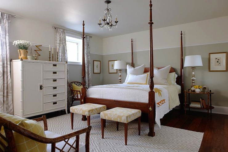 Four Poster Bed Transitional Bedroom Sarah