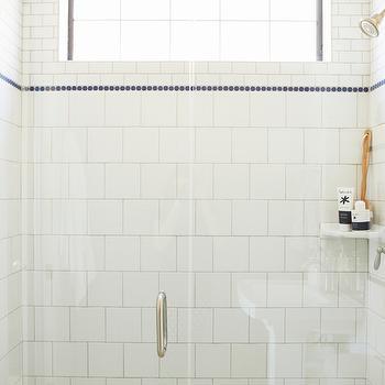Corner Shower Shelf, Transitional, bathroom, Alice Lane Home