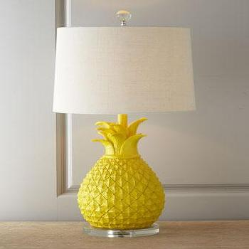 Silver Palama Pineapple Lamp Bases