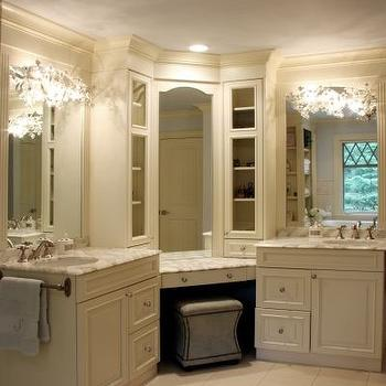 Corner Bathroom Vanity Design Ideas