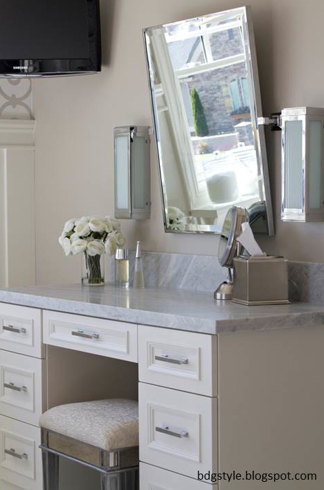 Enjoyable Lilac Desk Vanity Mirror Hutch Pbteen Ocoug Best Dining Table And Chair Ideas Images Ocougorg