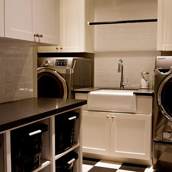 Laundry Room Storage, Transitional, laundry room, Belmont Design Group