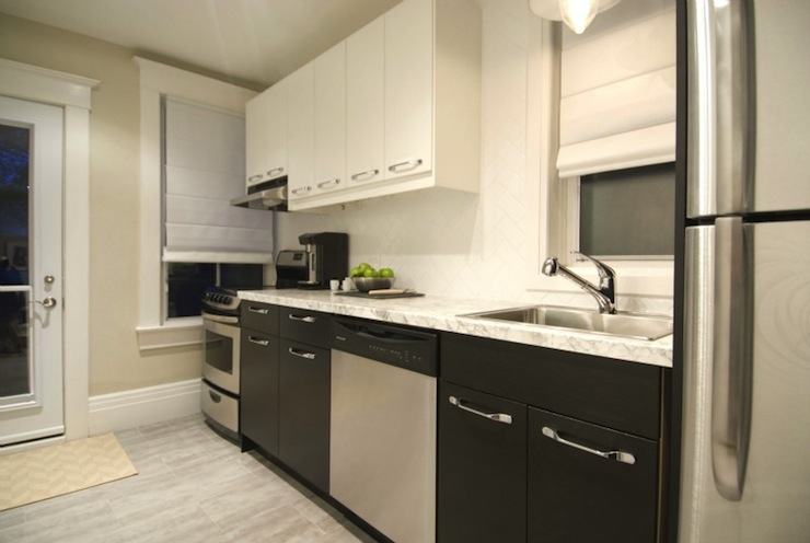 Formica Bianca Luna Contemporary Kitchen Hgtv