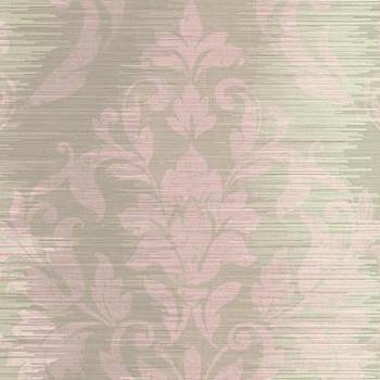 Damask Stripe Wallpaper by Seabrook Wallcoverings, BURKE DECOR