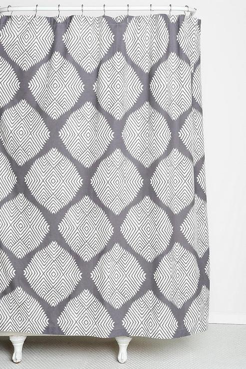 Magical Thinking Diamond Tile Shower Curtain Urban Outfitters