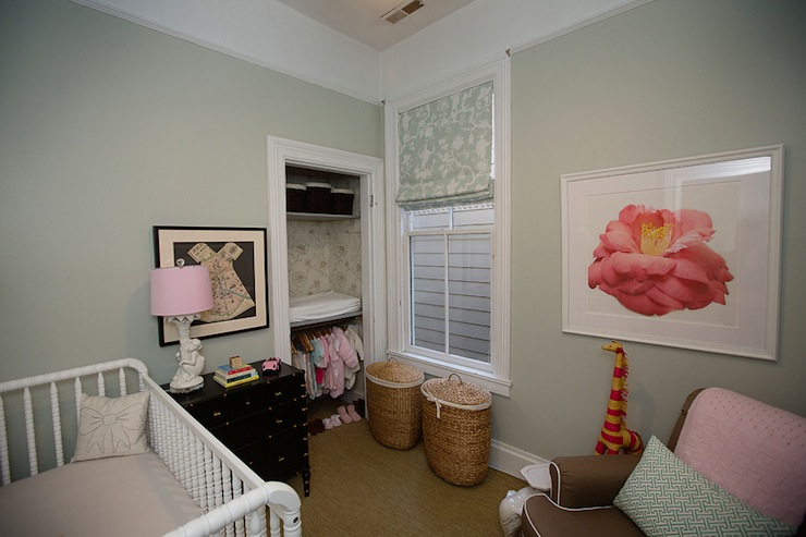 Built In Changing Table Transitional Nursery Kate