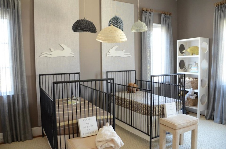 Twin Nursery Design Contemporary Nursery Finnian S