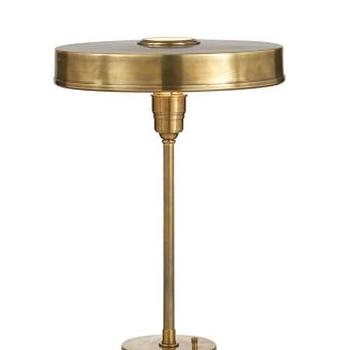 Carlo Table Lamp, Antique Brass I High Street Market