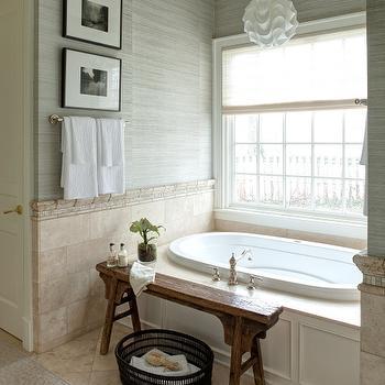 Zen Bathroom, Transitional, bathroom, Andrea Goldman Design