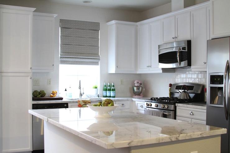 Beau White Marble Countertops