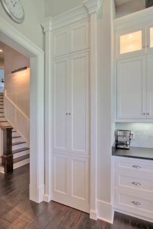 Pantry design ideas for Hidden pantry doors