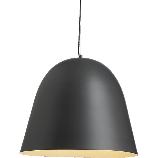 Industrial Bell Pendant Light: Capitol Pendant Lamp