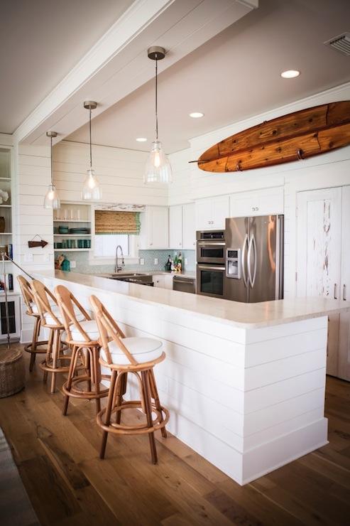 Beach Cottage Kitchen Cottage Kitchen Ashley Gilbreath