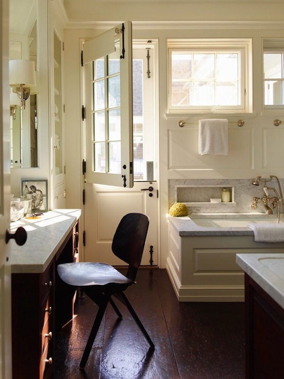 Dutch Door Cottage Bathroom Sawyer Berson