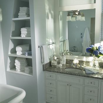 Gray Granite Countertops, Transitional, bathroom, BCP Architecture