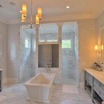 Gray Vanities, Contemporary, bathroom, Palmetto Cabinet Studio
